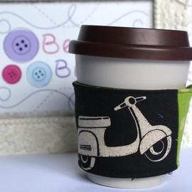Luulla - Eco friendly Scooter coffee cozy