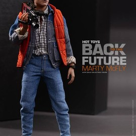 Hot Toys - Back to the Future 1/6th scale Marty McFly collectible action figure.