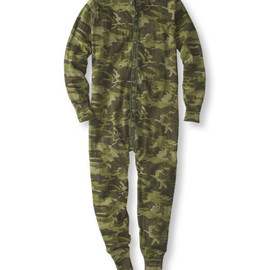 L.L.Bean - Two-Layer Union Suit / Camo