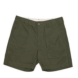 ENGINEERED GARMENTS - Fatigue Short-Cotton Ripstop-Olive