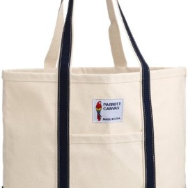 PARROTT CANVAS - MEDIUM TOTE BAG