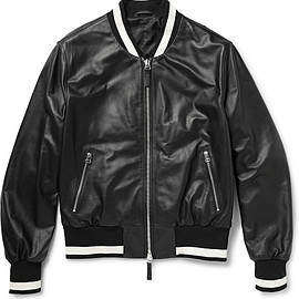 ami - ami_leather_bomber_jacket