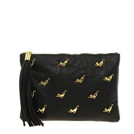 ASOS - Multi Zip Cat Clutch Bag