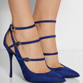 NICHOLAS KIRKWOOD - Suede point-toe pumps