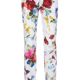 DOLCE&GABBANA - printed trouser