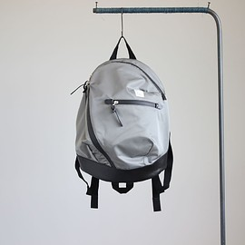 kiruna - P-BAG Ⅲ Lux #gray×black/miracosmo nylon