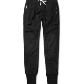 Acne - Johnston Contrast-Panel Sweatpants