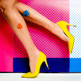 Fendi - Fendi Anne Point-Toe Pumps in Lime