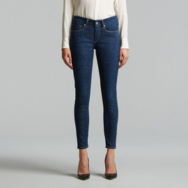 LEVI'S MADE & CRAFTED - Empire Cropped Skinny Jeans in Solitude