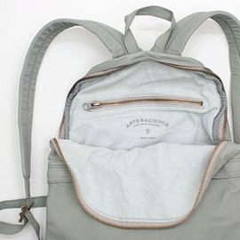 ARTS&SCIENCE - cow leather Day pack