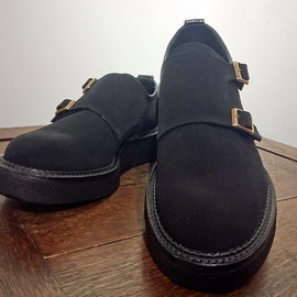 KIDS LOVE GAITE - [KIDS LOVE GAITE] Rubber Sole / Dubble Monk Strap
