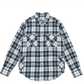 SASSAFRAS - Botanical Scout Shirt-Flannel-Check