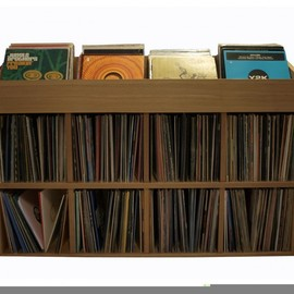 Woodnik - Record Rack DEFENSE