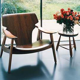 Sergio Rodrigues - Brazilian Wood, Table & Chair