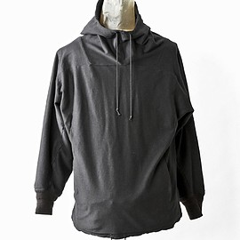 SIVA - INW-CAS / DOUBLE JERSEY HOODED PULLOVER
