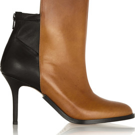 Maison Martin Margiela - Two-tone leather ankle boots