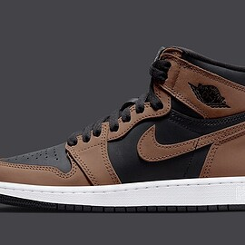 NIKE, Jordan Brand - Air Jordan 1 High OG - Black/Archaeo Brown/Dark Chocolate