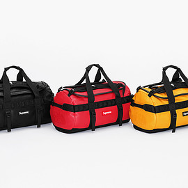 Supreme, THE NORTH FACE - Leather Base Camp Duffel
