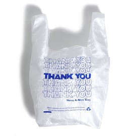 LAUREN DICIOCCIO - THANK YOU TOTE BAG BLUE