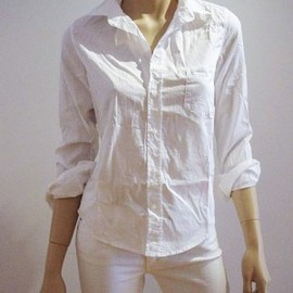Frank & Eileen - Barry Classic Shirt (White)