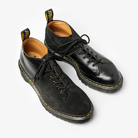 Engineered Garments - EG SPECIAL - CHURCH LACE LOW BOOT / SUEDE COMBO