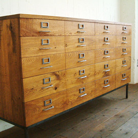 TRUCK FURNITURE - LIBRARY CHEST