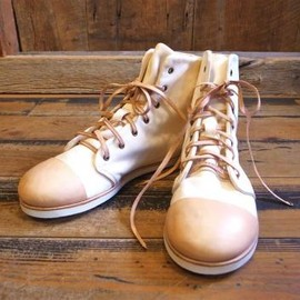 凸&凹 - Hi-C shoes white