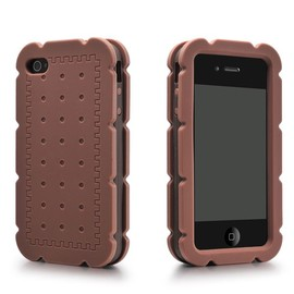 hallomall - Silicone Biscuit Cream Sand iPhone 4/4S Case