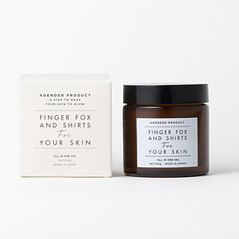 FINGER FOX AND SHIRTS For YOUR SKIN - ALL IN ONE GEL