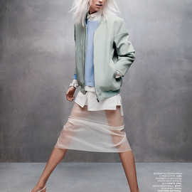 Vogue Russia March 2014 styling