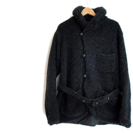 Engineered Garments - EG S/C KNIT JACKET -BOUCLE-