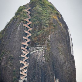 Guatape Rock, Columbia - 659 steps to the Top