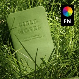 Field Notes - Grass Stain Green edition