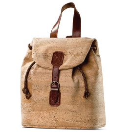 Corkor - Cork Backpack in Cork with Leather Finishings by Corkor