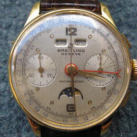 BREITLING - Full Calendar Moon-Phase Chronograph