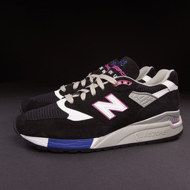 New Balance - M998BK - Black/Purple