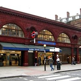 london - Russell Square station