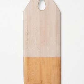 Anthropologie - Colorblocked Bread Board