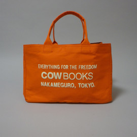cow books - cow books Container  Tote Bag 1/2  orange