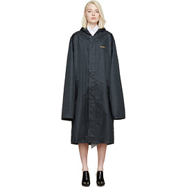 Vetements - Navy Oversized Rain Coat