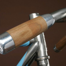 vanilla bicycles - wood Grip