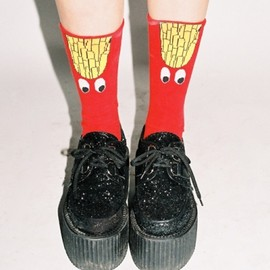 Lazy Oaf - French Fries Socks