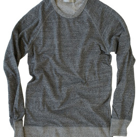 FLISTFIA - Crew Neck Sweat / Charcoal