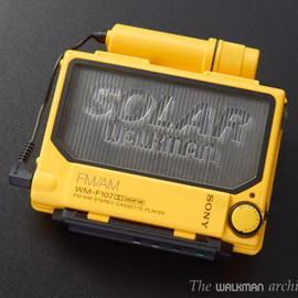 SONY - SONY Walkman WM-F107 Yellow