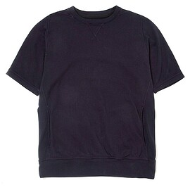 nonnative - DWELLER CREW PULLOVER S/S COTTON SWEAT OVERDYED