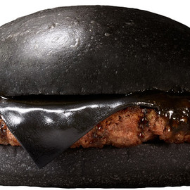 BURGER KING - Kuro Pearl burger