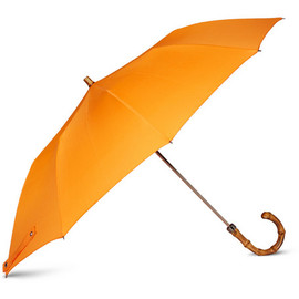 London Undercover - Collapsible Bamboo-Handle Umbrella