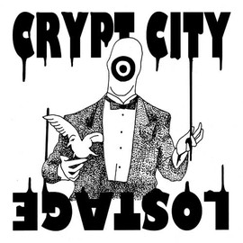 "CRYPT CITY / LOSTAGE - CRYPT CITY / LOSTAGE SPLIT ""7""inch"