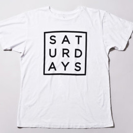 Saturdays Surf - Square Type T-Shirt