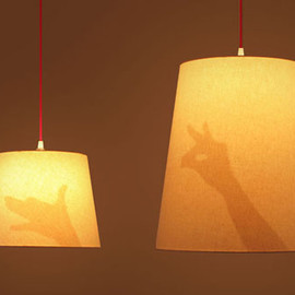 Airconditioned  - Hand Shadow Lamp